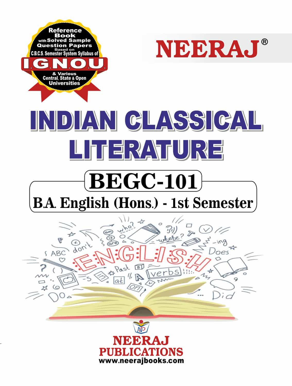 Indian Classical Literature