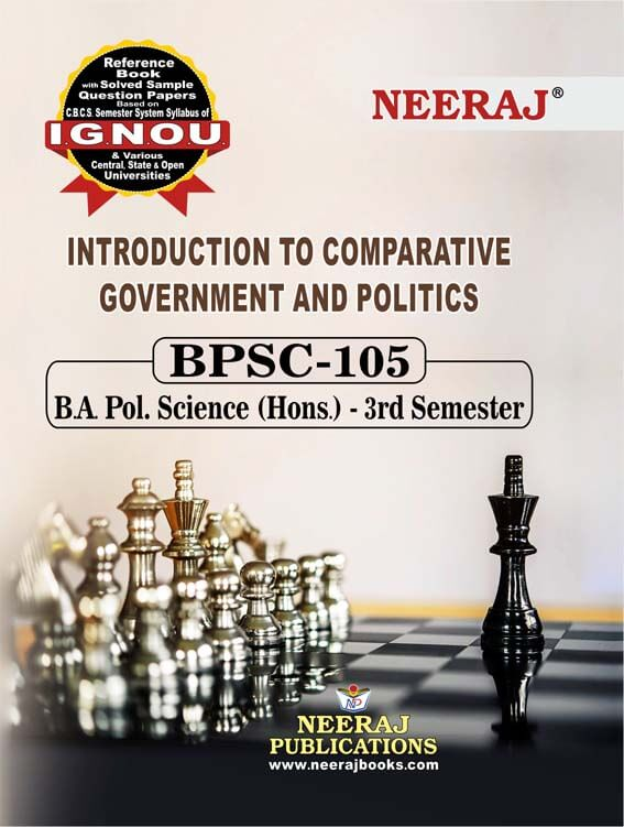 INTRODUCTION TO COMPARATIVE GOVERNMENT AND POLITICS