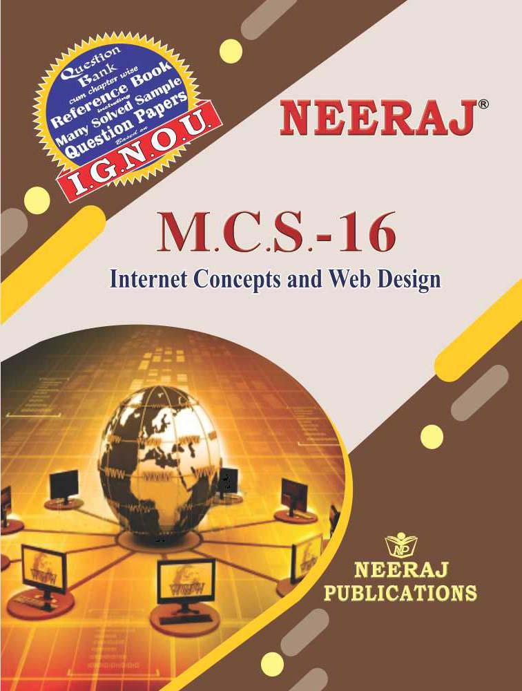 Internet Concepts and Web Design