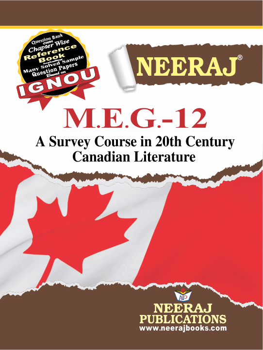 A SURVEY COURSE IN 20TH CENTURY CANADIAN LITERATURE