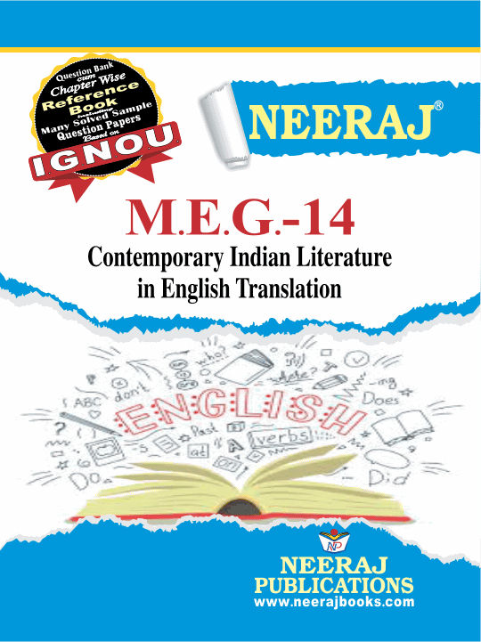 CONTEMPORARY INDIAN LITERATURE IN ENGLISH TRANSLATION
