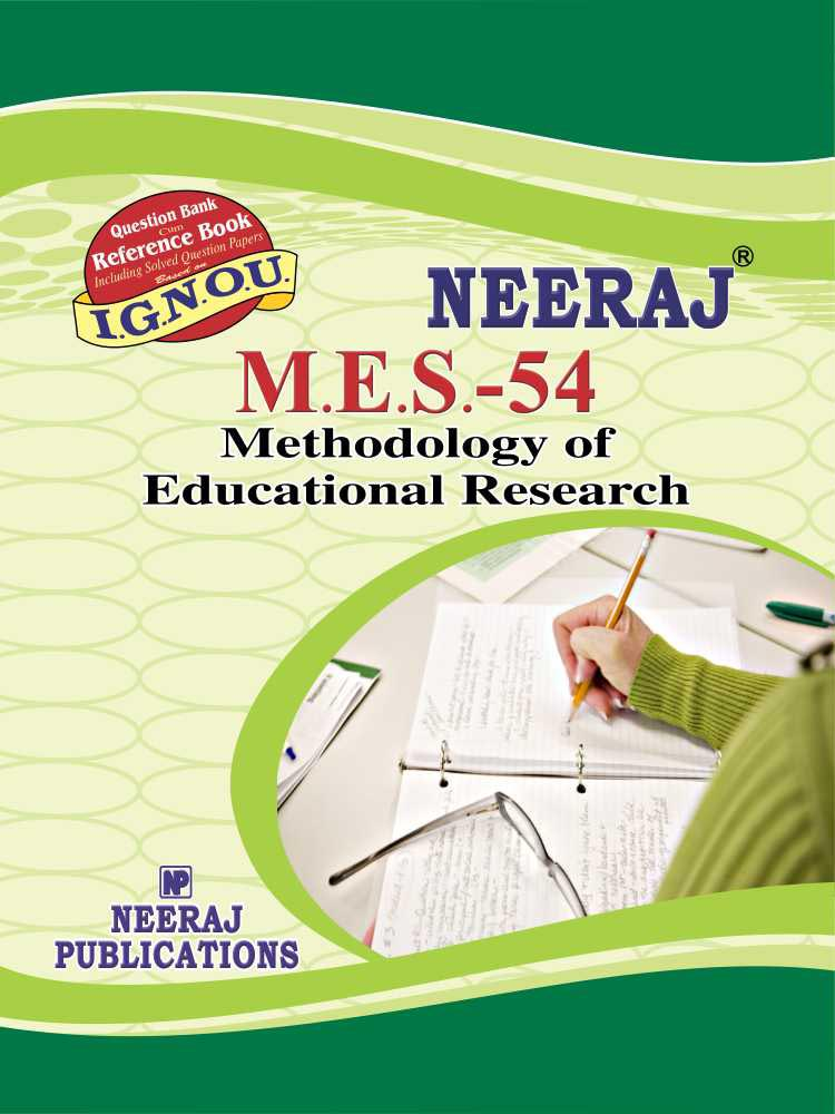 Methodology of Educational Research