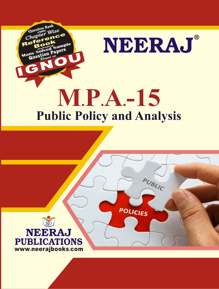 Public Policy and Analysis