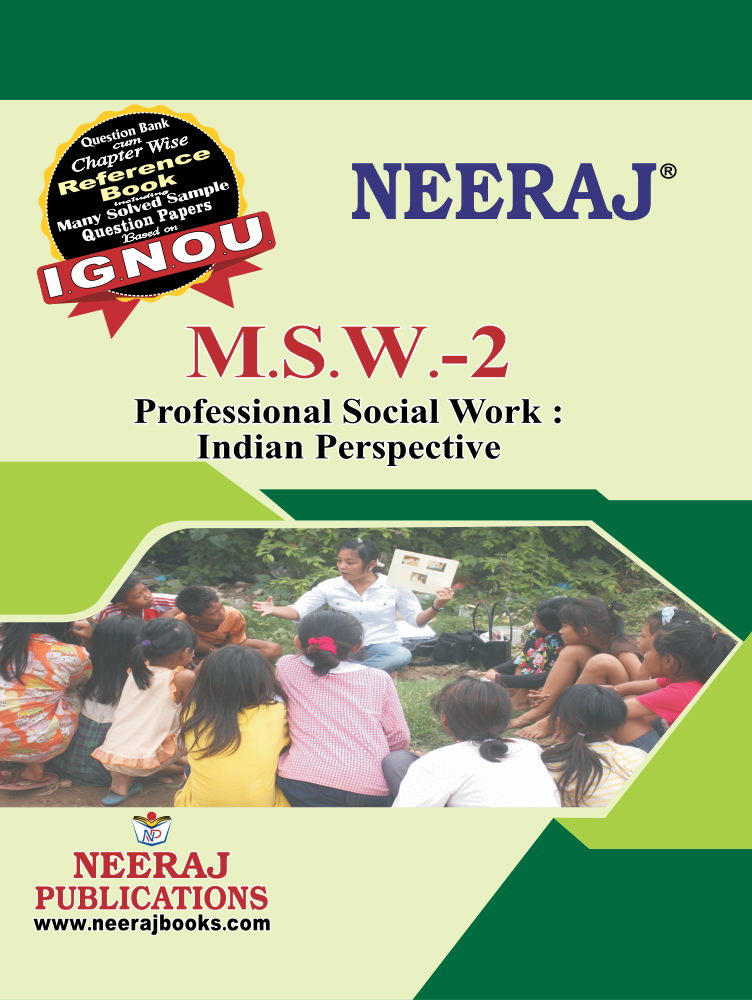 Professional Social Work: Indian Perspectives