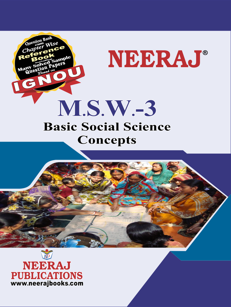 Basic Social Science Concepts
