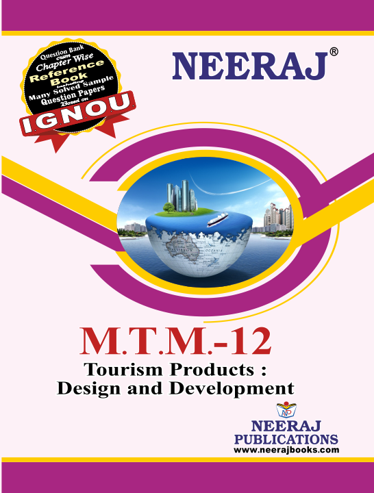 Tourism Products : Design and Development